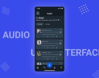 AudiO - Voice based micro-blogging App