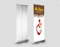 Free Rollup Banners Mockup