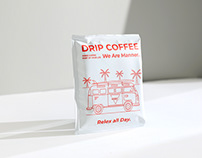 Drip Coffee Bag | Packaging Design