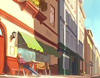 Coffe and Sun