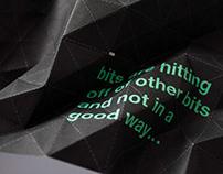 Experimental Typographic Posters | x3 | LSAD