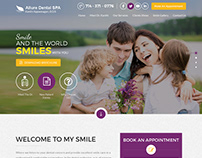 Dental Clinic Responsive Wordpress Theme Design