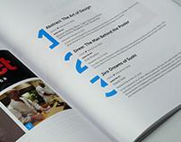 a magazine - Editorial Design
