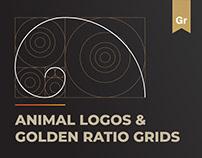 Animal Logos and Golden Ratio Grids