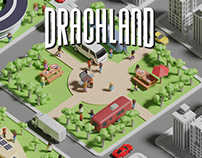 Drachland - Board Game