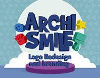 ARCHISMILE Logo Redesign & Branding