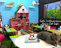 Cats In Wonderland