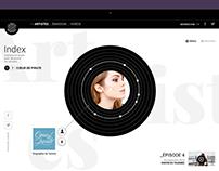La boite à musique - Site web