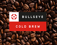 Konsus Branding Project: Bullseye Cold Brew