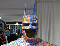 Batman customisé par Tarek au Comiccon de Paris