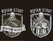 The Witcher beer label project