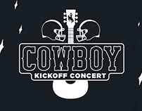 2018 Cowboy KickOff Concert Design Series