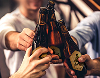 Etiqueta Cerveza Porcellina