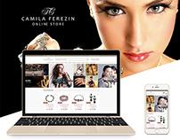 Camila Ferezin - Loja Virtual