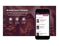 Local Concert App