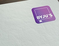 Byju's Classes New Logo Concept