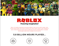Infographic for Roblox