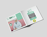 """Dana Clinic Smile"" Catalog Design"