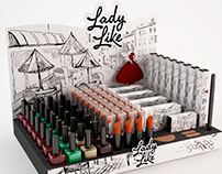 Lady Like Panvel  • Branding & Package Design