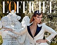 L'Officiel Russia Cover Story