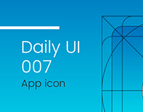 Daily UI #007 | app icon