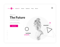 Website Design concept - StyleDotMe