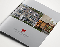 Wright Building Company Brochure, Collateral