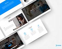 Diseño Web- Compañía Financiera