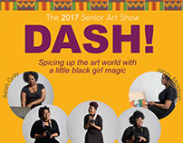 Dash Art Show Flyer