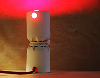 Veilleuse ligotée, tied nightlight