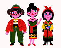 Folksy Family