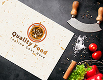 Quality Food - Restaurant Logo