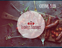 Franky's Sausages Branding