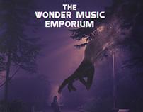 The Wonder Music Emporium November 2017 Vinyl Design