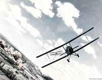 War Plane - Photo Manipulation