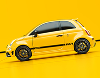 Abarth 595 - Yellow