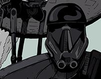 Star Wars: Rogue One -  Fan Art (2016)