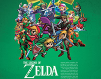 The Legend of Zelda (Editorial Spread)