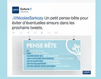 Cultura + Sarkozy