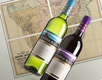 Clipper Route wine labels
