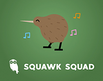 Explanatory video for Squawk Sqaud (mobile app)