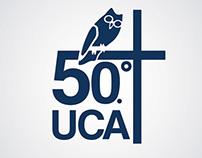 UCA logo anniversary