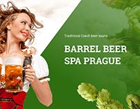 Пивная сауна в Праге