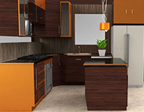 ORANGE. Diseño de cocina
