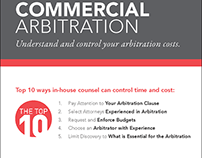 AAA Arbitration Infographic Series