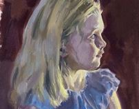 Oil Portrait Studies