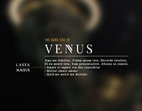 The Dark Side of Venus