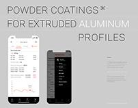 CX mobile app. European plant