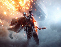 Battlefield 1 Key Art & Logo Design