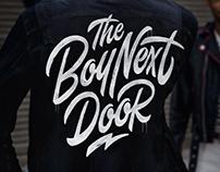 Logo design 'The Boy Next Door'